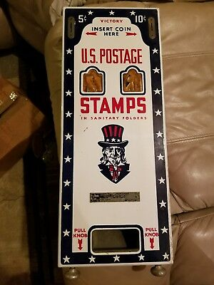 Vintage 60s USPS stamp vending machine old US Post Office collectible