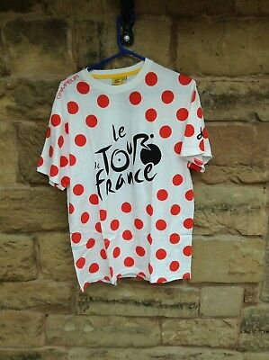 Brand New With Tags Tour De France Cycling T-Shirt White Large