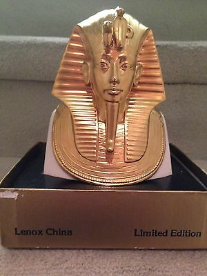 LENOX For MMA The Gold Mask Of Tutankhamun LIMITED EDITION