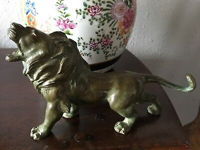 Antique Bronze Lion