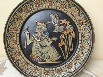 Denbyware Limited Edition Egyptian Collection Plate Queen Ankhesenamum IV (4)