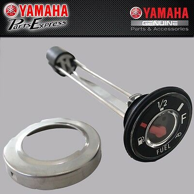 New Yamaha Gas Tank Fuel Gauge Meter & Seal Ring Kit Kodiak Grizzly Big Bear