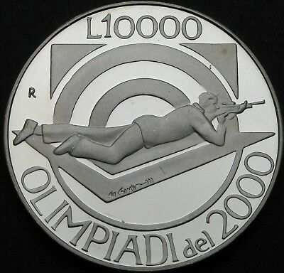 SAN MARINO 10000 Lire 1999R Proof - Silver - Olympic Games 2000 - 970 ¤