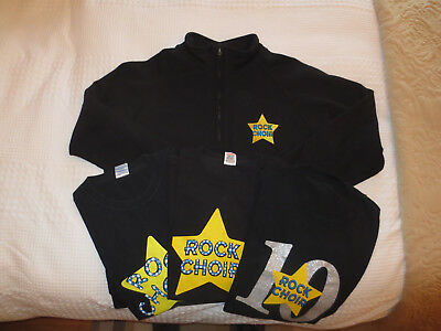 Rock Choir Fleece and 3 T-Shirts Mens Large NO RESERVE