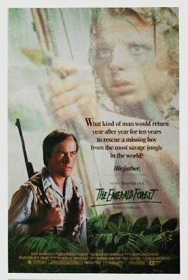 (Der Smaragdwald) Powers Boothe Meg Foster THE EMERALD FOREST US Movie Poster