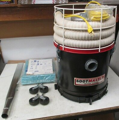 Mastercraft Ind. Sootmaster Vacuum Cleaner 625M (New No Box)