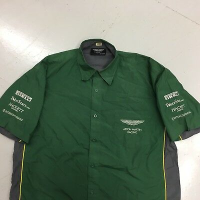 Aston Martin Racing Crew Shirt By Hackett