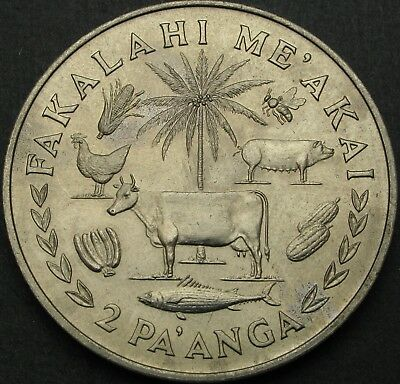 TONGA 2 Paanga 1975 - FAO Food For All - aUNC - 943 ¤