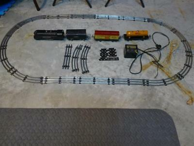 1688 Lionel train set with track,transformer,switch,spare parts.As Is.