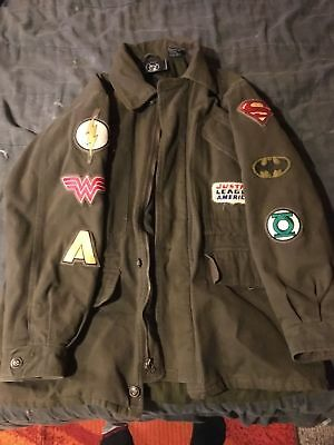 Justice League Coat HTF Rare 80's great condition - movie premiere jacket