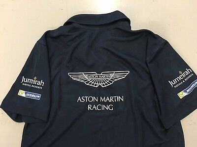 Aston Martin Racing N24 Nurburgring Crew Polo Used Medium