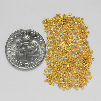 0.9895 Gram Alaskan Natural Gold Nuggets - (#20963) - Hand-Picked Quality