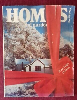 Homes and Gardens vintage edition December 1984