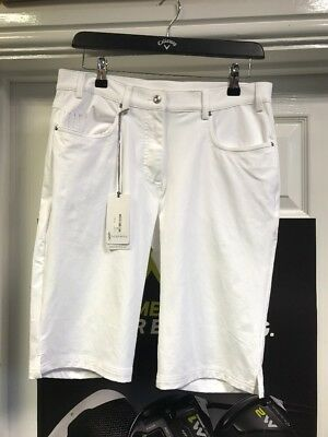 Glenmuir Ladies Lottie Golf Shorts New With Tags Uk 10 Rrp £60