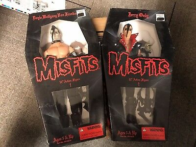 "12"" Misfits Action Figures Jerry Only and Doyle Wolfgang Von Frankenstein Set!"