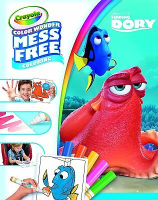 Crayola Color Wonder Finding Dory Mess Free Magic Colouring Book & Pens