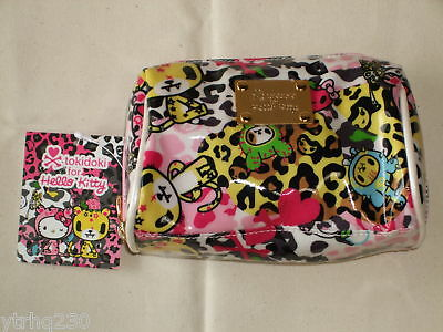 TOKIDOKI x Hello Kitty Cosmetics Pouch Bag Sanrio 2009 Rare NWT