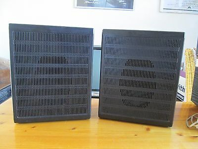 vintage PHILIPS speakers small size wide range for instance for turntable etc.