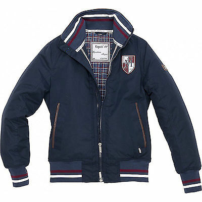 Equi Theme Kinder Winter Blouson Equit'M navy