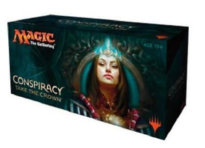 MTG Magic the Gathering Conspiracy 2 Take the Crown Booster Box Sealed+Free Ship