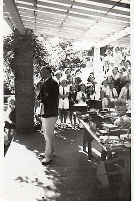 r.p. postcard of a school event, possibly a prizegiving,  1939 written on back