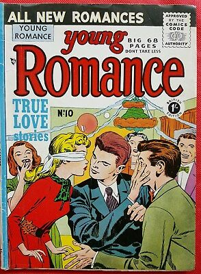 Young Romance 10 Arnold Book Company Golden Age 1954 Vf