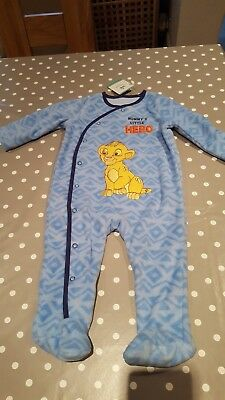 Disney Lion King baby sleepsuit, 6-9 months, new with tags