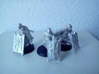 lotr lord of the rings warhammer metal black guard of barad dur warriors