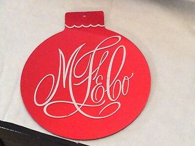 Rare & HTF Marshall Field & Co Chicago Original Holiday Ornament Hung In Store