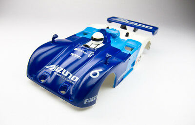 RARE HTF Japan Release Tyco Open Cockpit Racer MIZUNO #6 HO Slot Car Body