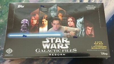Topps STAR WARS GALACTIC FILES REBORN Trading Cards BOX 24 packs - NEW, SEALED