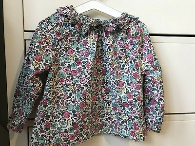 Joules Baby Girl Floral Top 9-12 Months