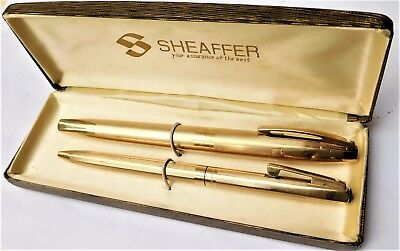 NO RESERVE Boxed Shaffer Fountain Pen Set Vintage