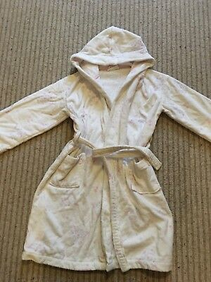 Excellent Little White Company Dressing Gown 7-8 Girls