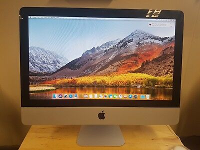 "Apple iMac 12,1 (2011) 21.5"" Screen Core i5 2.7 16GB RAM 2TB HDD High Sierra"