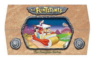 The Flintstones: The Complete Series (DVD, 2012, 24-Disc Box Set) Sealed F&S