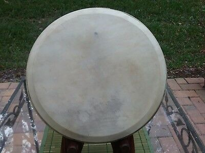 "Vintage Calfskin Banjo Head For 11""archtop Rim"