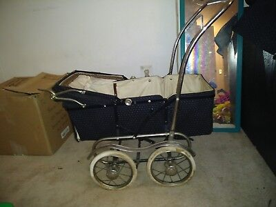 vintage marmet pram baby or doll carriage stroller