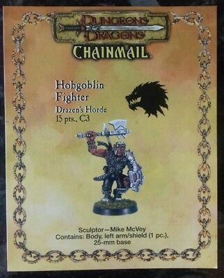 Chainmail Wizards Coast Dungeons & Dragons Hobgoblin Fighter Drazens Horde 1 Fig