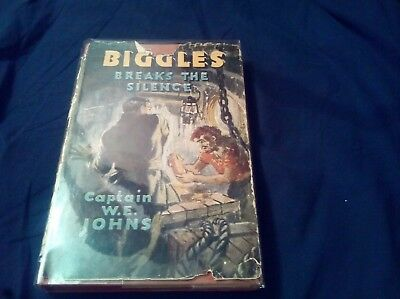 Biggles breaks his silence by captain w e johns 1951