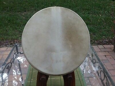 "Vintage Calfskin Banjo Head 10 5/8"" With 5/8"" Crown"