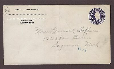 mjstampshobby 1915 US Vintage Cover Used (Lot4821)