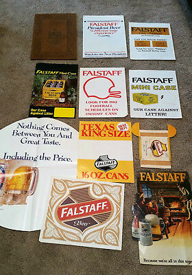 Falstaff Beer Point Of Purchase Advertising