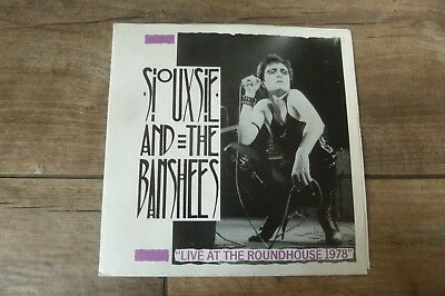 """Siouxsie And The Banshees - Live At The Roundhouse 1978 UK 7"""" EP STIGMA PUNK/KBD"""