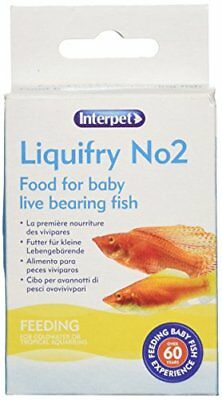 Interpet Liquifry No. 2  Food for Baby Live Bearing Fish
