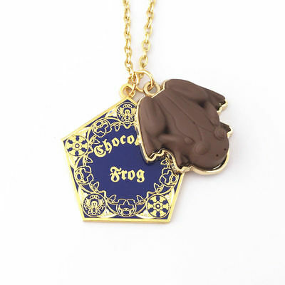 NEW Universal Studios Wizarding World of Harry Potter CHOCOLATE FROG Necklace
