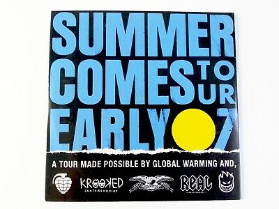 Deluxe Dist - Summer Comes To Early Tour 2007 - Vintage Skateboard Video / Dvd