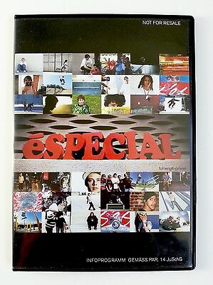 e'SPECIAL - VINTAGE 2007 e'S SKATE SHOES VIDEO/DVD - HEAVY LINE UP OF RIDERS