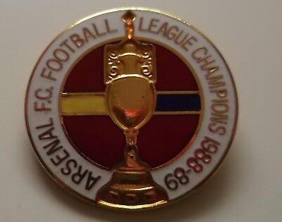 Old Arsenal 1988-89 League Champions Badge