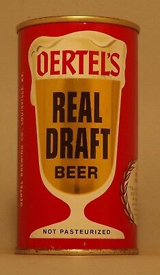 Early U Tab - Gorgeous Oertel's Real Draft Beer Can Louisville KY  - No Reserve!